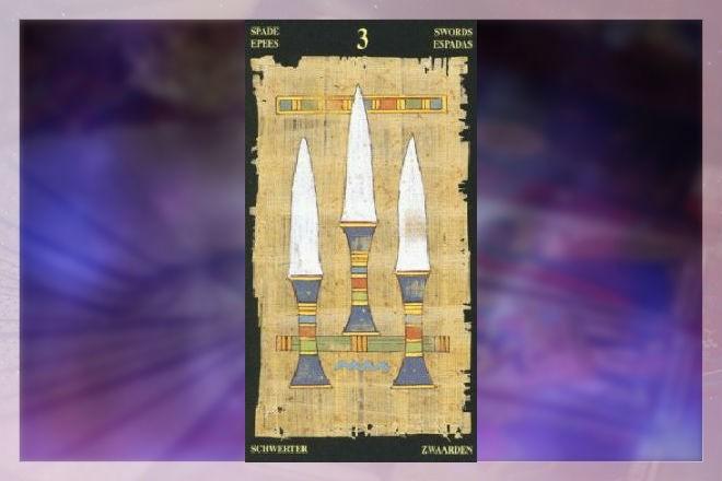 3 меча в египетском таро