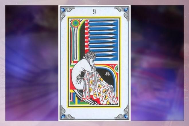 значение 9 мечей как карты дня